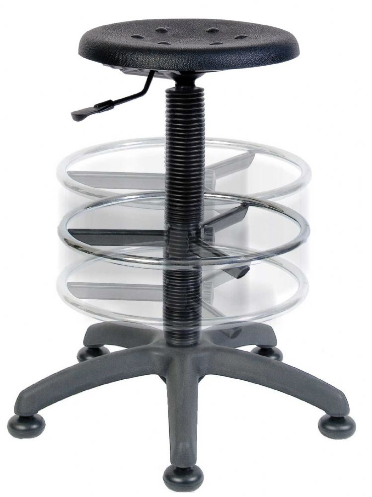 TEKNIK DELUXE DRAUGHTER POLLY Comfortable Chair With Movable Footring